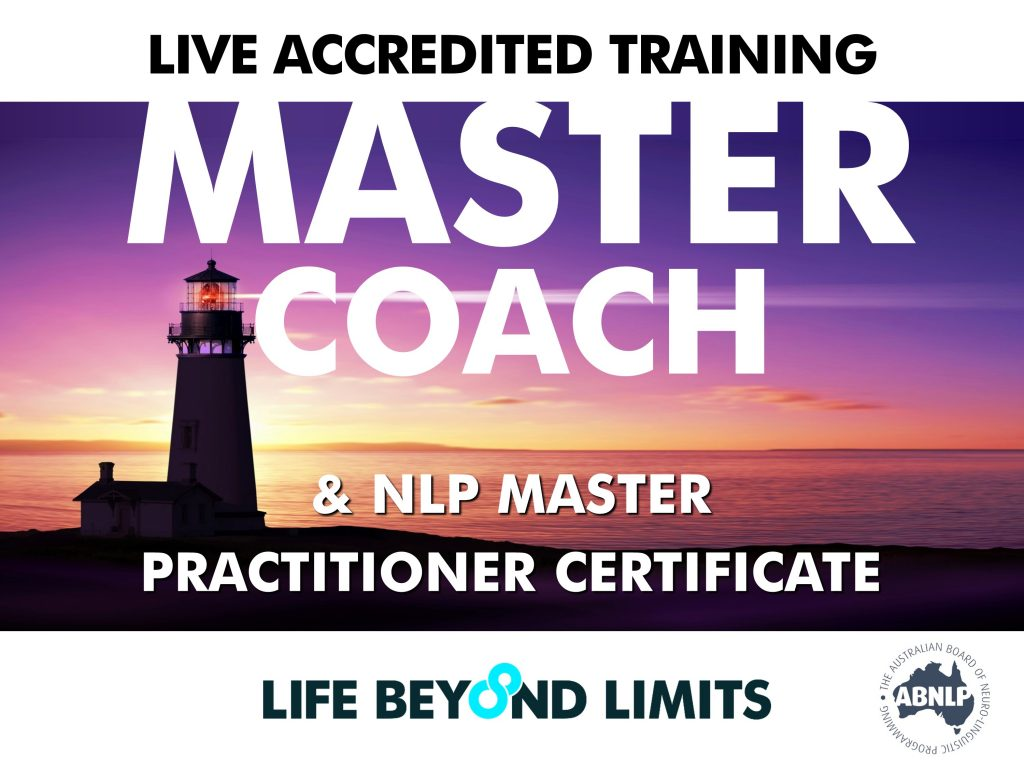 Master Coach and NLP Master Practitioner: Live Training ...