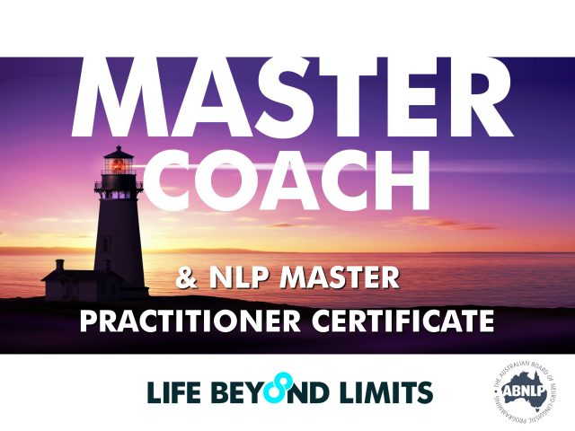 Master Coach and NLP Master Practitioner: Live Training May 2018