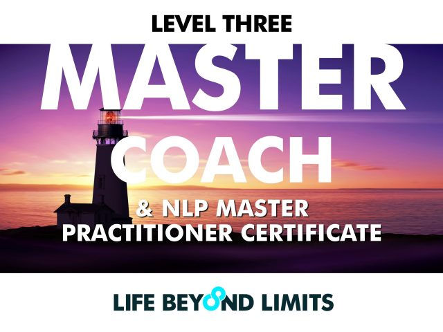 Master Coach and NLP Master Practitioner: Live Training June 2019