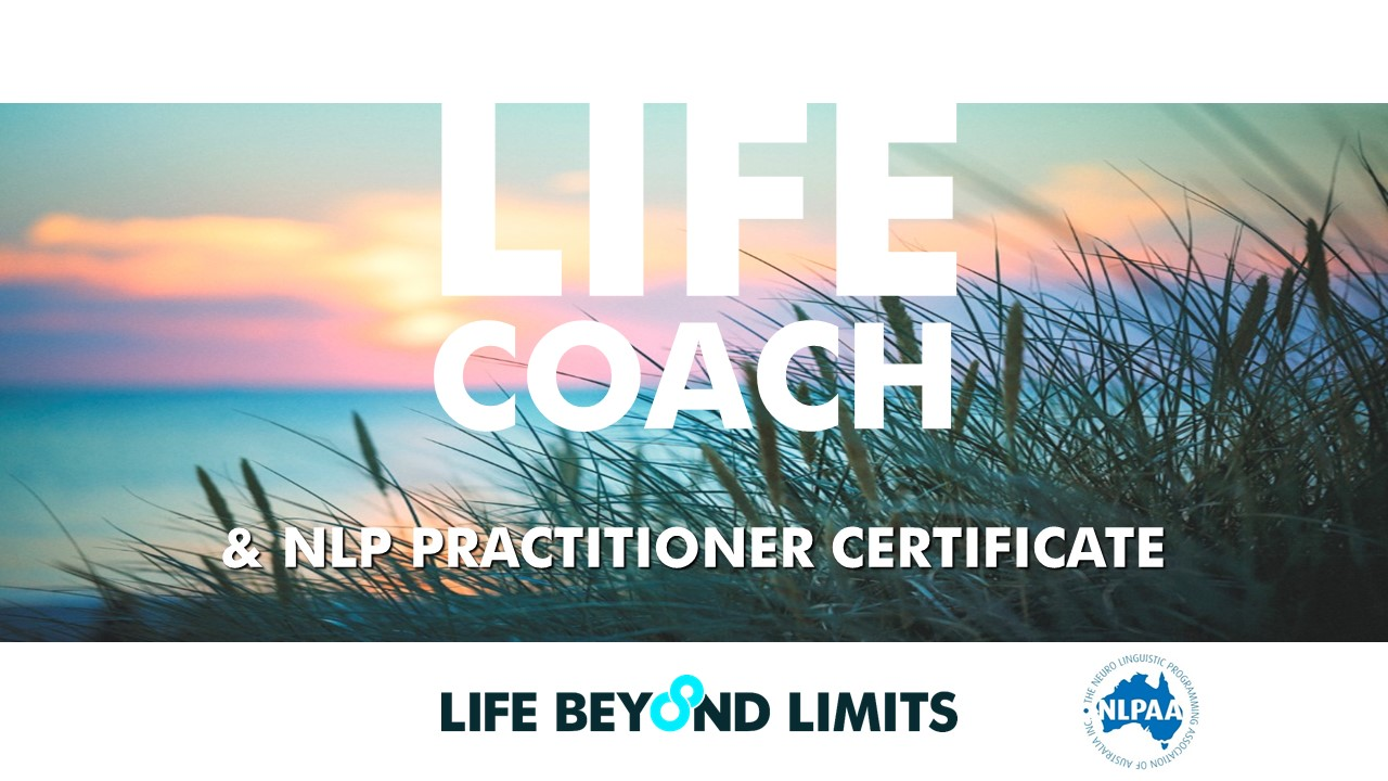 Life Coach and NLP Training Online with Life Beyond Limits